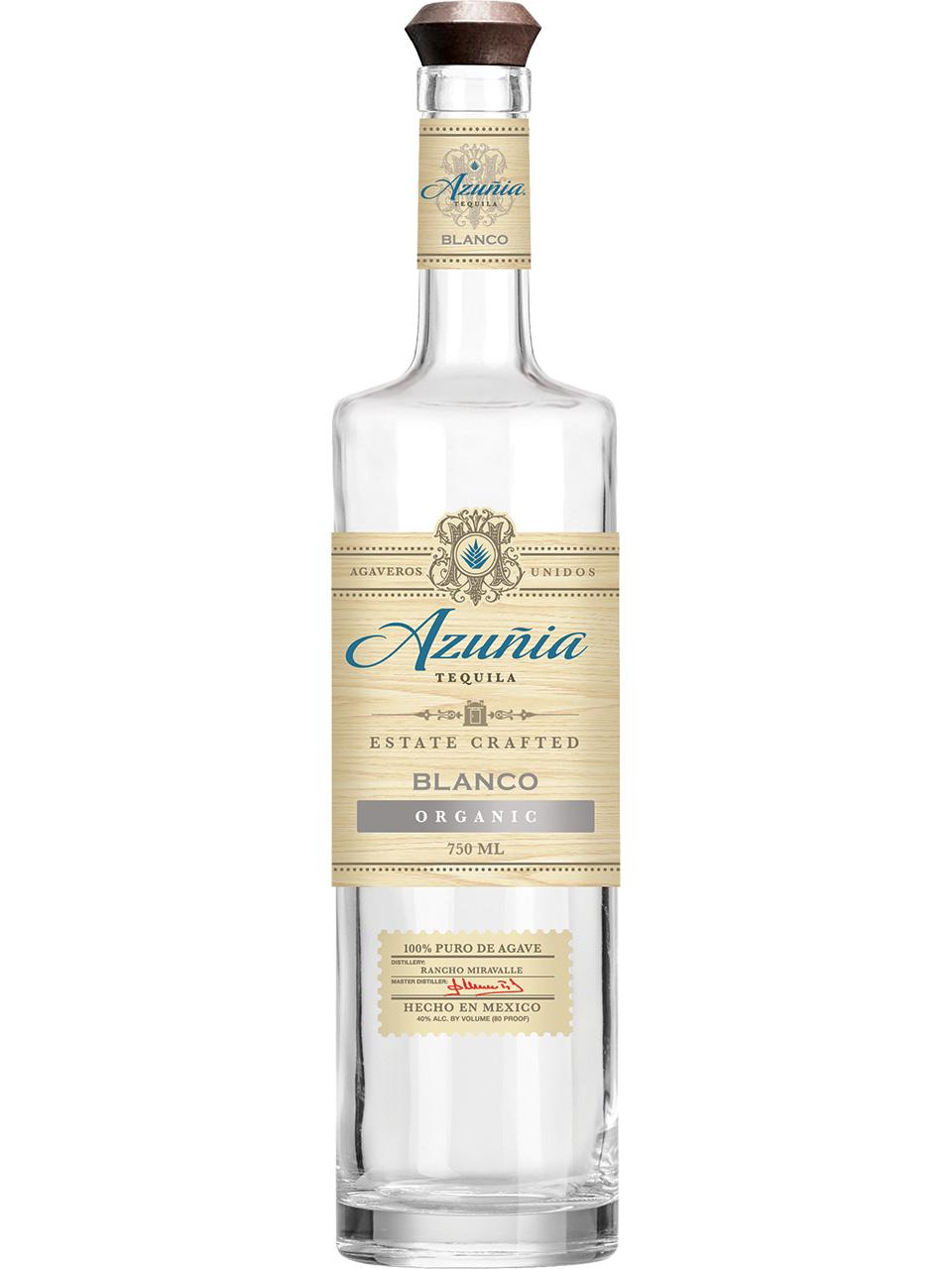 Azunia Blanco Tequila