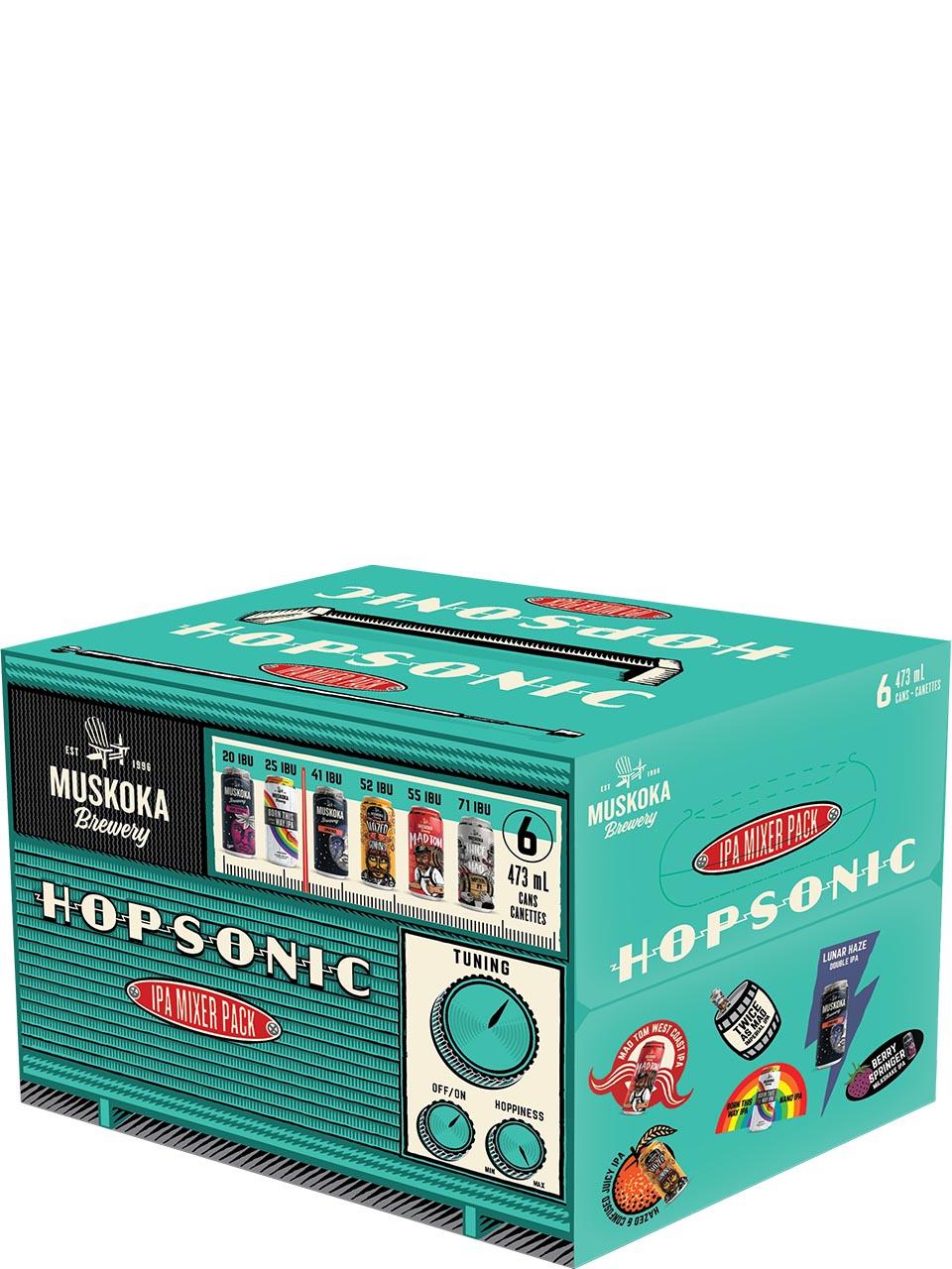 Muskoka Hopsonic IPA Mixer Pack 6 Pack Cans