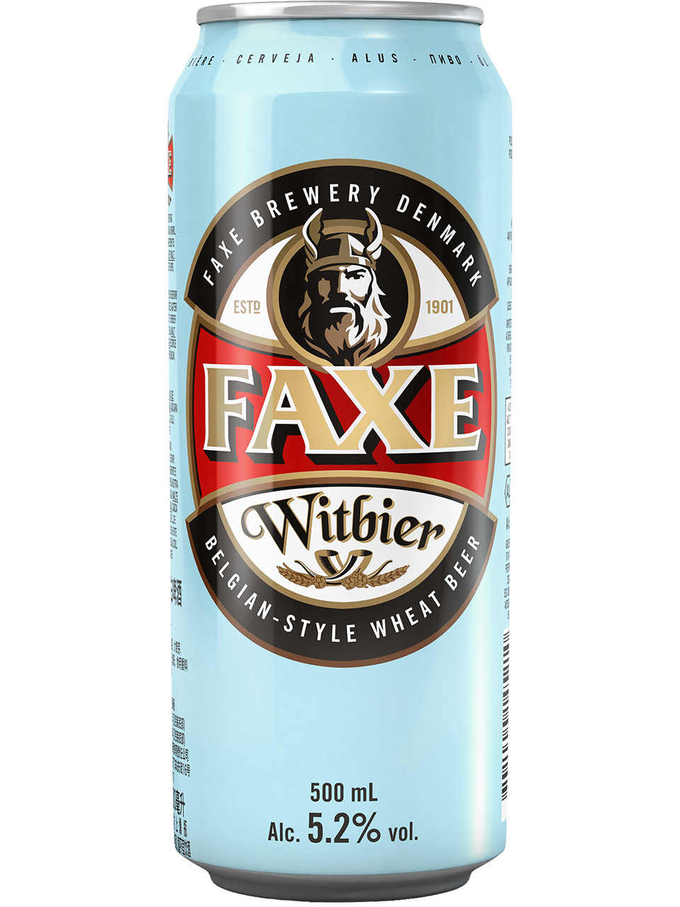 Faxe Witbier 500ml Can