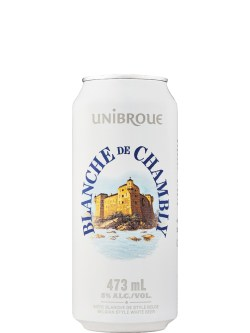 Unibroue Blanche de Chambly 4 Pack Cans