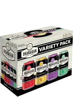 Okanagan Cider Variety 12 Pack Cans