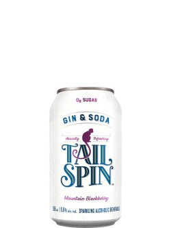 Tail Spin 0g Mountain Blackberry 6 Pack Cans