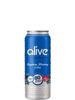 Alive by Vodka 0 Raspberry Blueberry & Acai 4pk