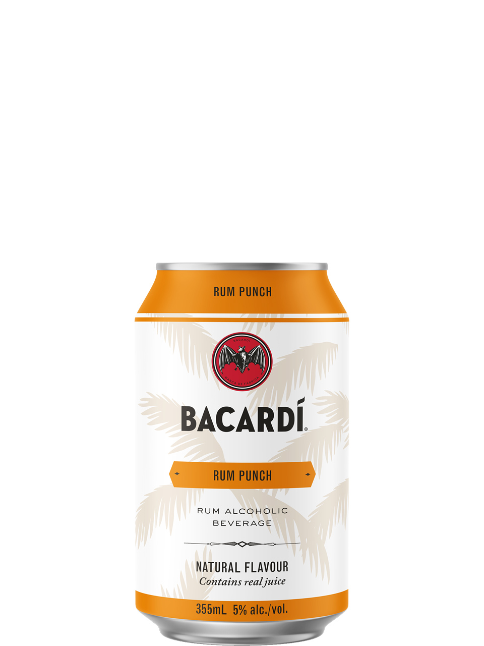 Bacardi Rum Punch 6 Pack Cans