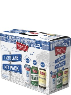 Mill St. Lager Lane Mix 12 Pack Cans