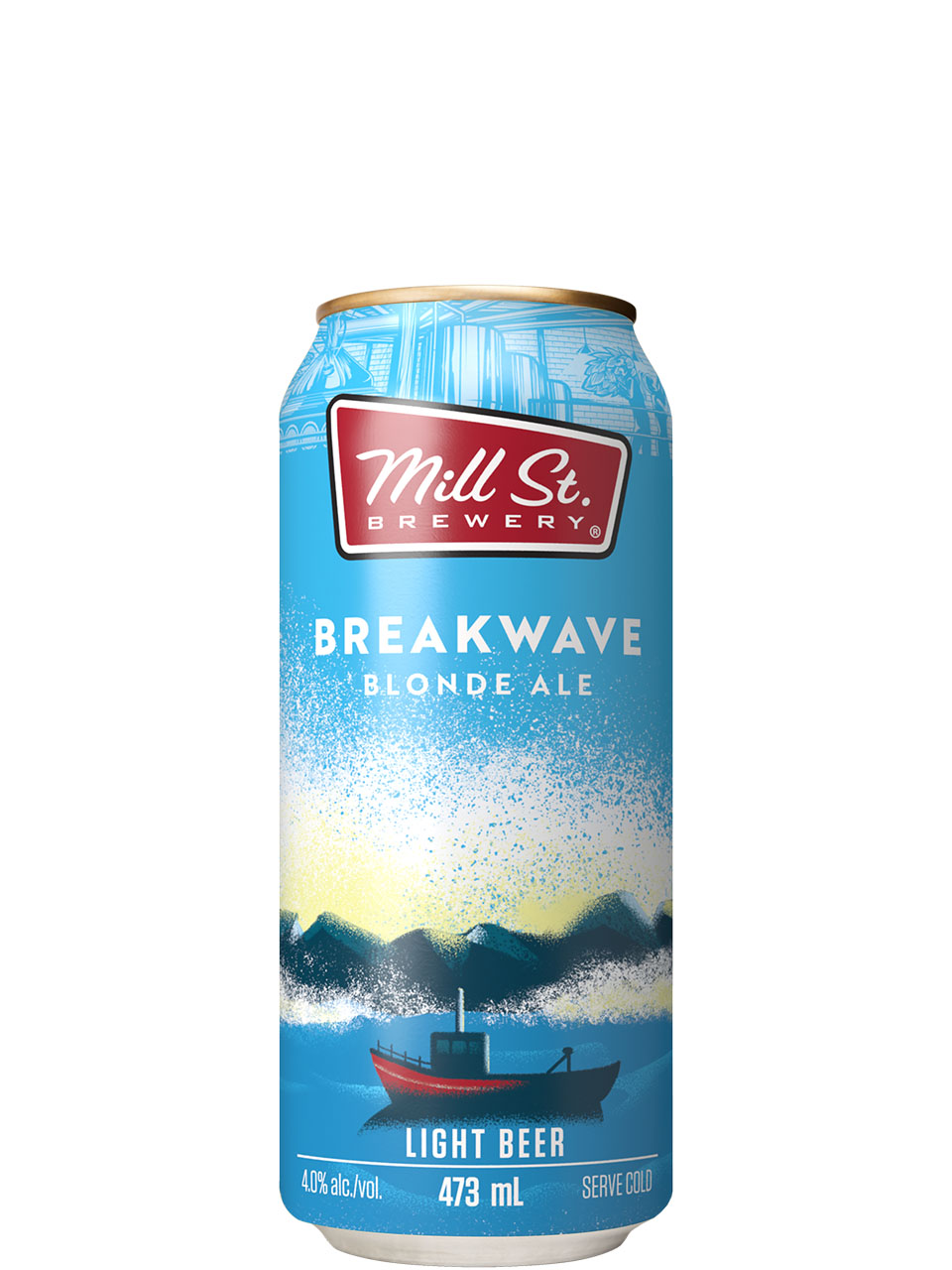 Mill St. Breakwave Blonde Ale 473ml Can