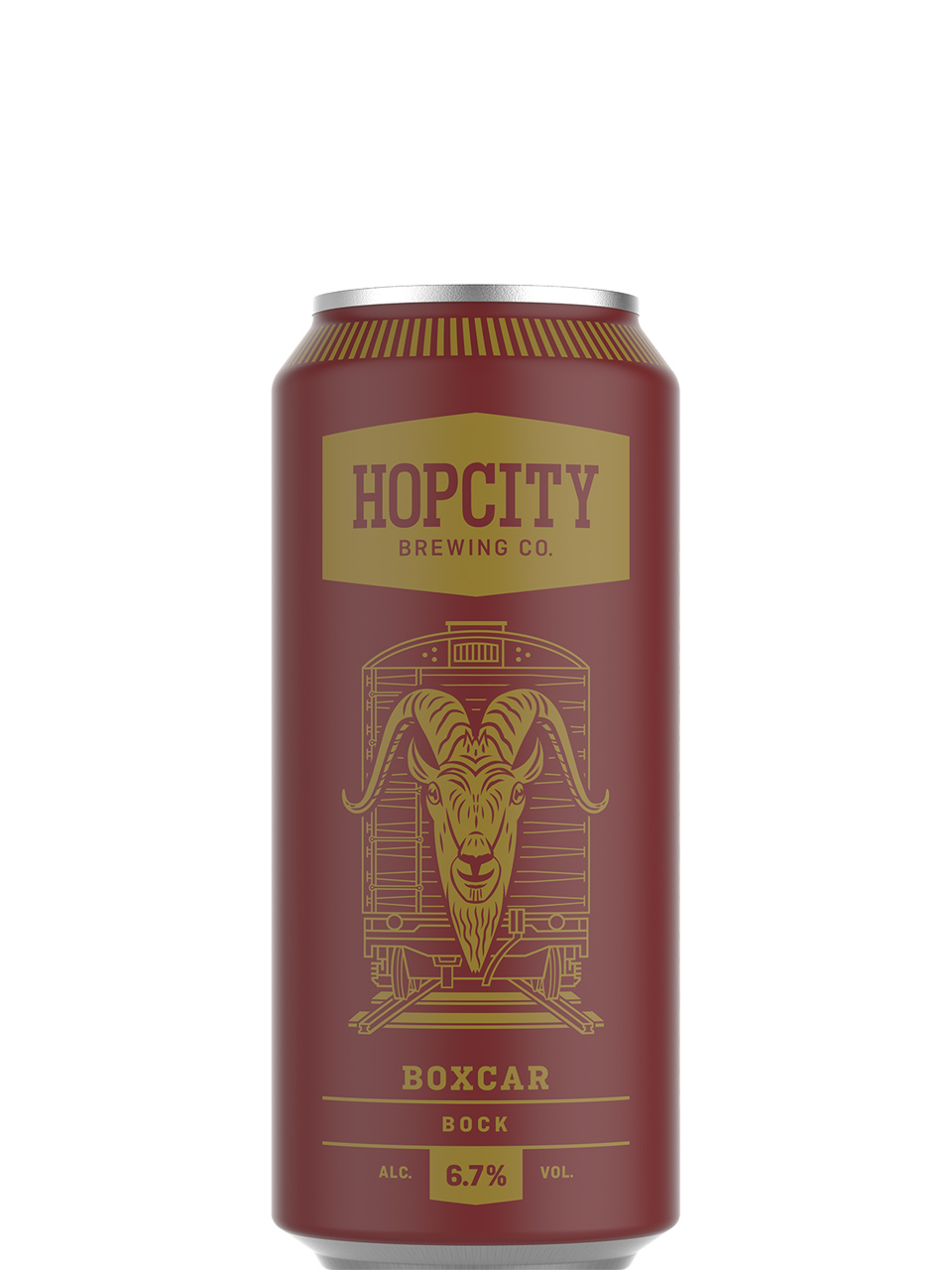 Hop City Boxcar Bock 473ml Can