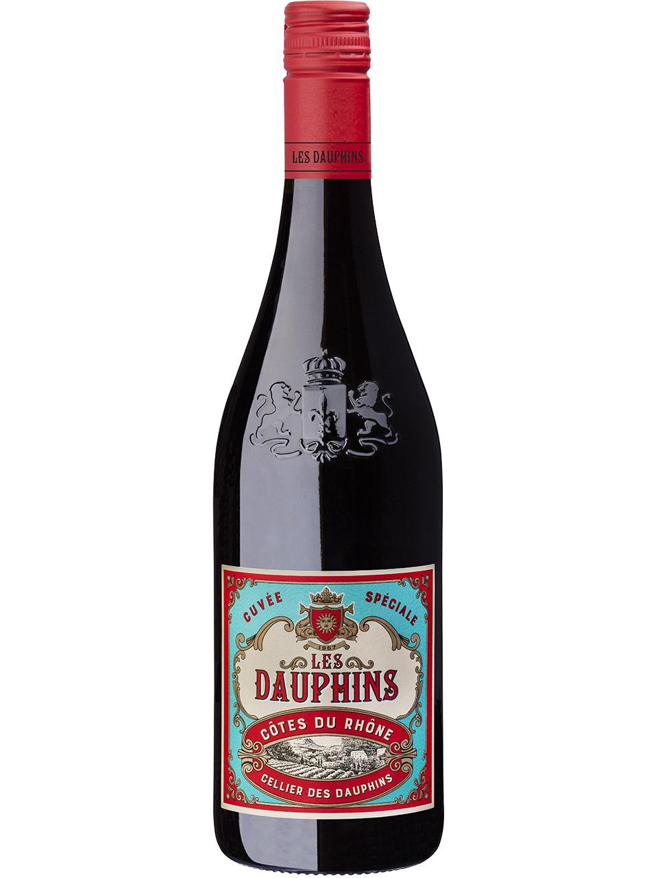 Les Dauphins Côtes du Rhône Rouge