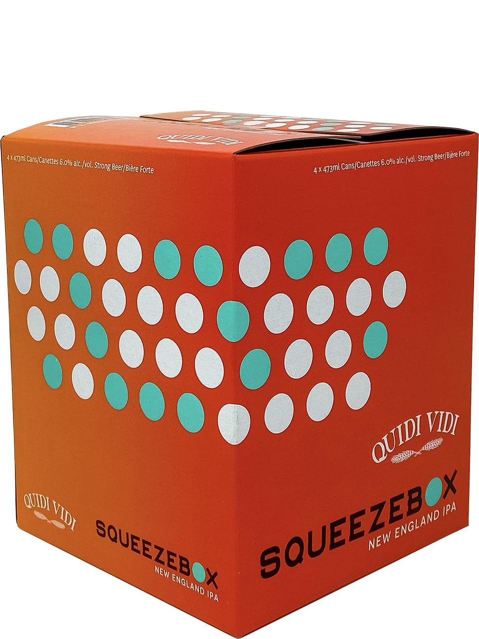Quidi Vidi Squeezebox 4 Pack Cans