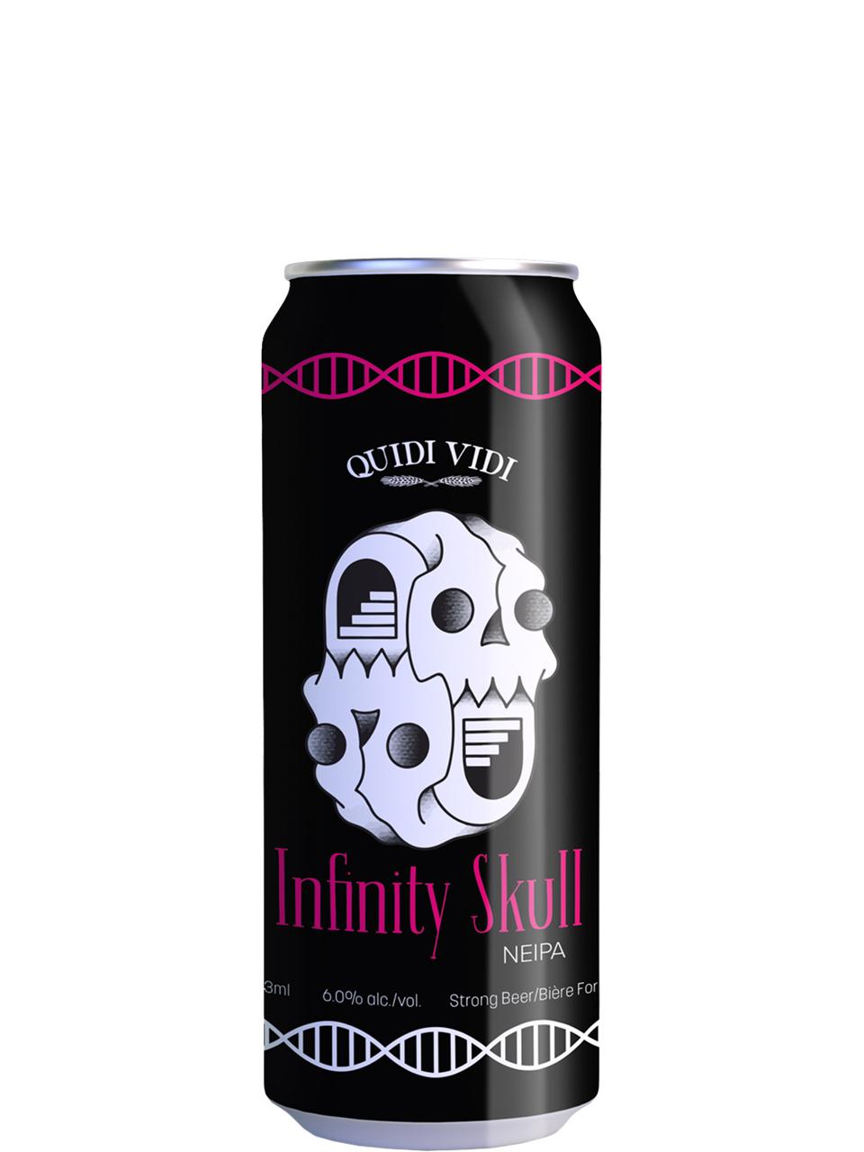 Quidi Vidi Infinity Skull NEIPA 473ml Can
