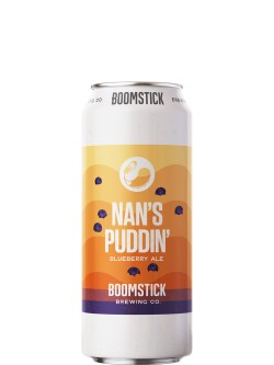 Boomstick Nan's Puddin' Blueberry Ale 473ml Can