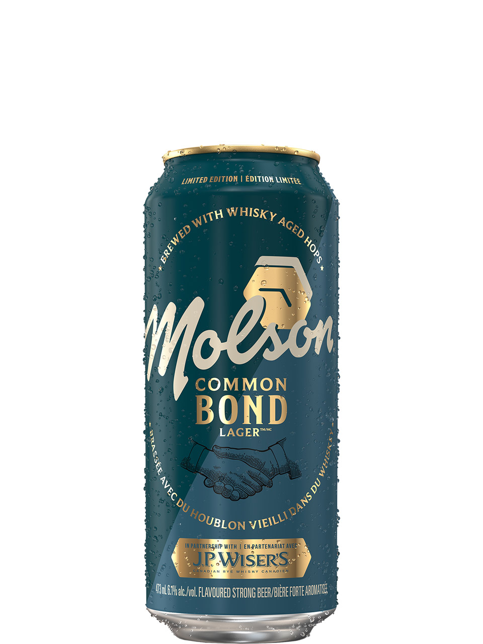 Molson Common Bond Lager 473ml Can
