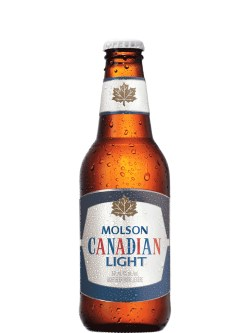 Molson Canadian Light 12 Pk Bottles