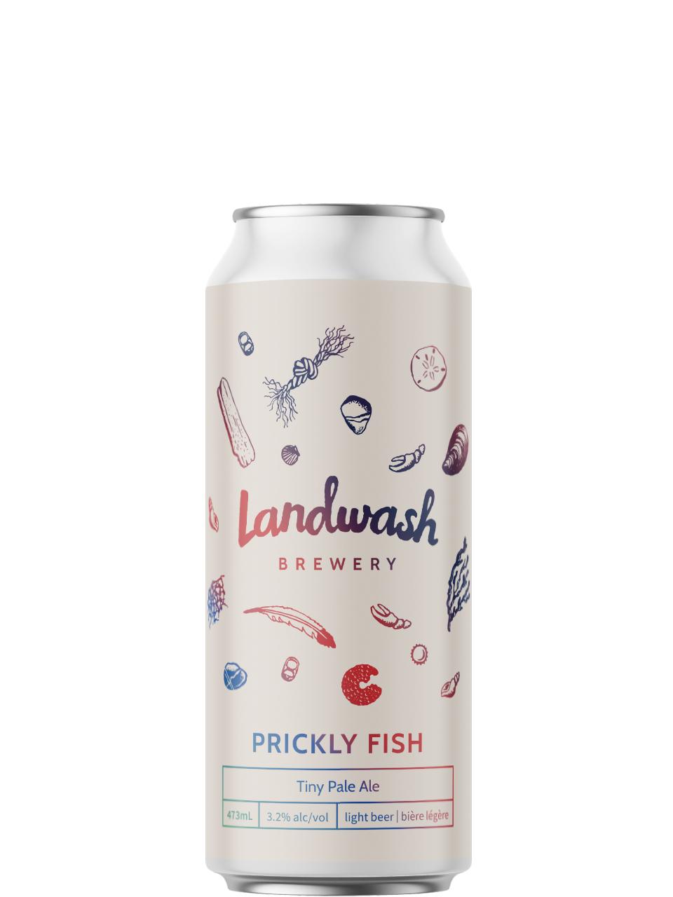 Landwash Prickly Fish Tiny Pale Ale 473ml Can