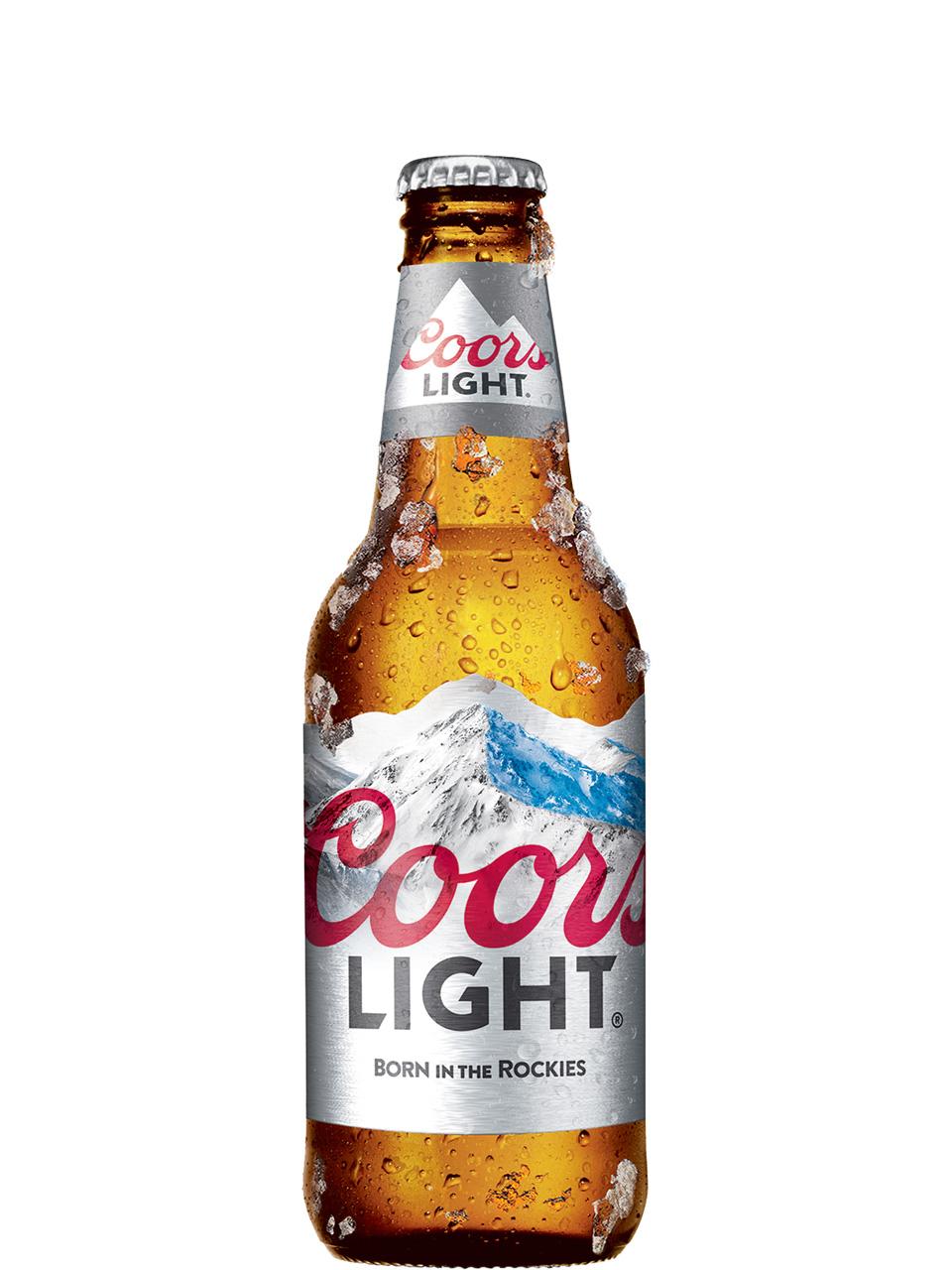Coors Light Bottles 6pk