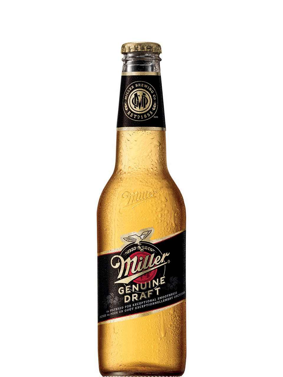 Miller Genuine Draft 12 Pack Bottles