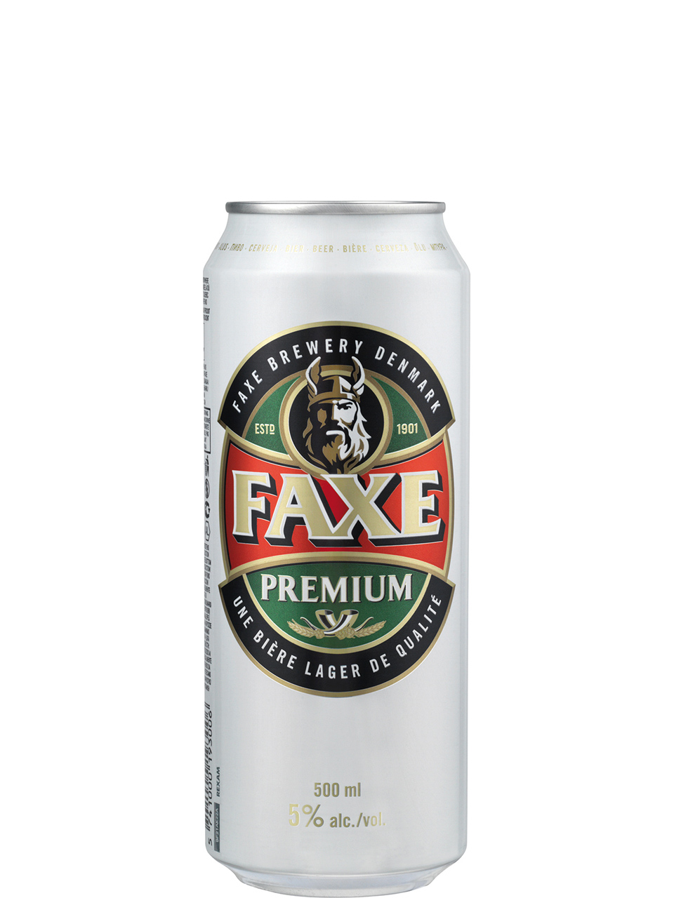 Faxe Premium Beer 500ml Can