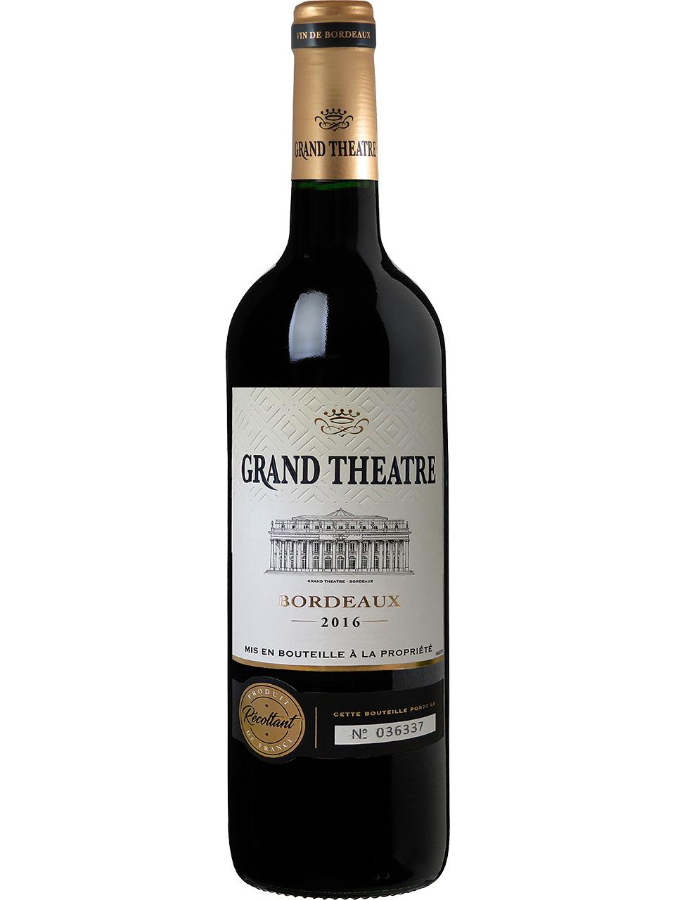 Grand Theatre Bordeaux Red