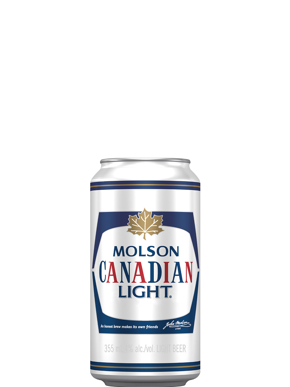 Molson Canadian Light Cans 8Pk