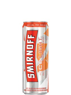 Smirnoff Ice Light Blood Orange & Soda 4 Pack Cans