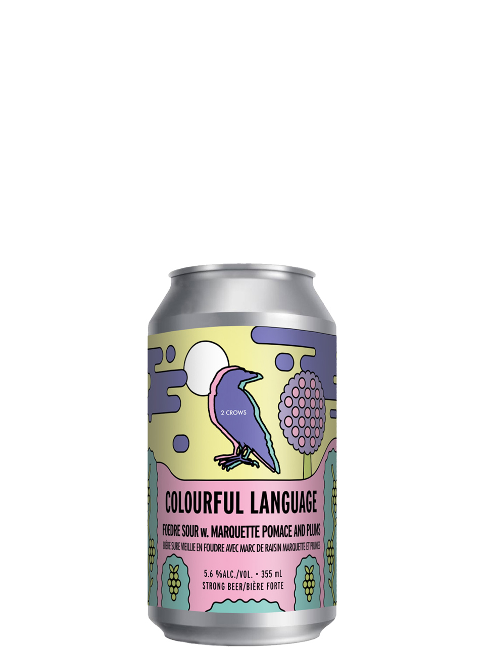 2 Crows Colourful Language 355ml Can