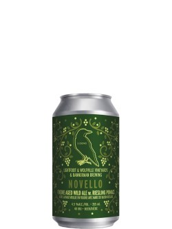 2 Crows Novello Foedre Aged Wild Ale 355ml Can