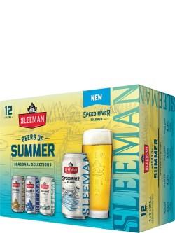 Sleeman Beers of Summer 12 Pack Cans
