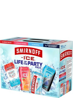 Smirnoff Ice Life of the Party Pack 12 Pack Cans