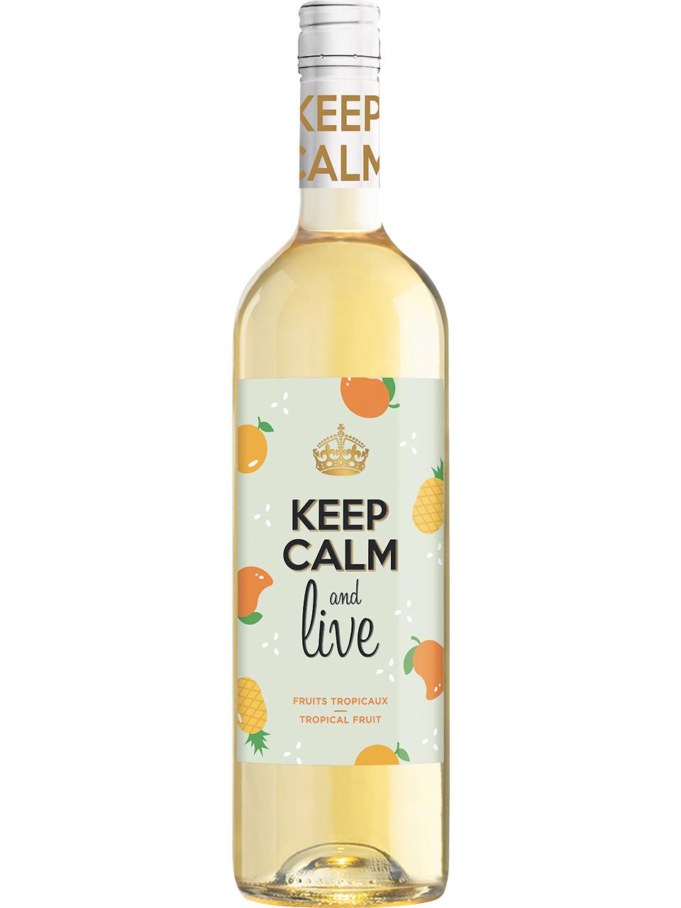 Keep Calm & Live Tropical Fruits