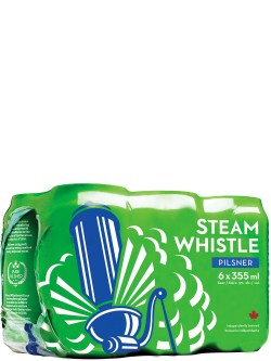 Steam Whistle Pilsner 6 Pack Cans