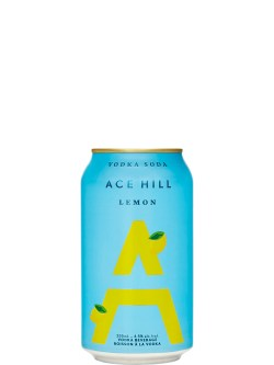 Ace Hill Lemon Vodka Soda 355ml Can