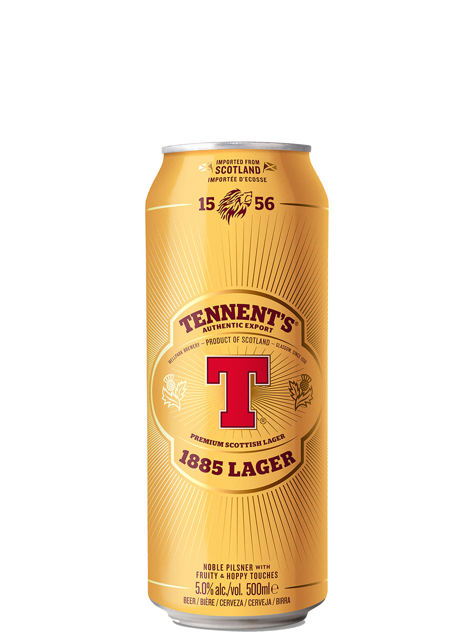 Tennents Export Lager 500ml Can