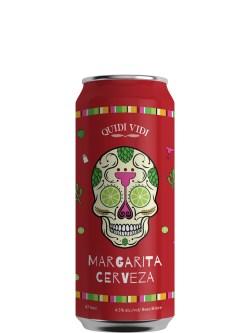 Quidi Vidi Margarita Cerveza Lager 473ml Can