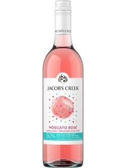 Jacob's Creek Less Sugar Moscato Rose