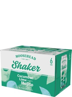 Moosehead Shaker Cucumber Lime Mojito 6 Pack Cans