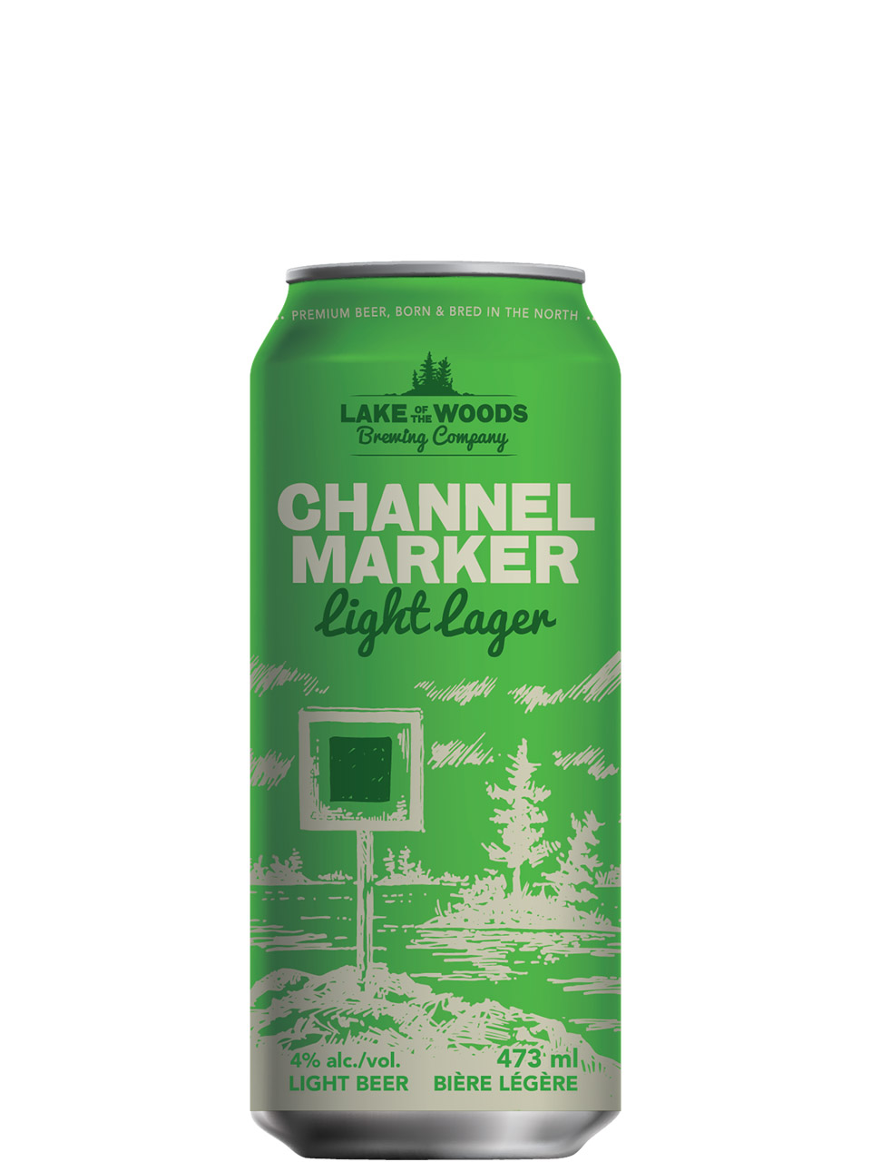 Lake of the Woods Channel Marker 473ml Can