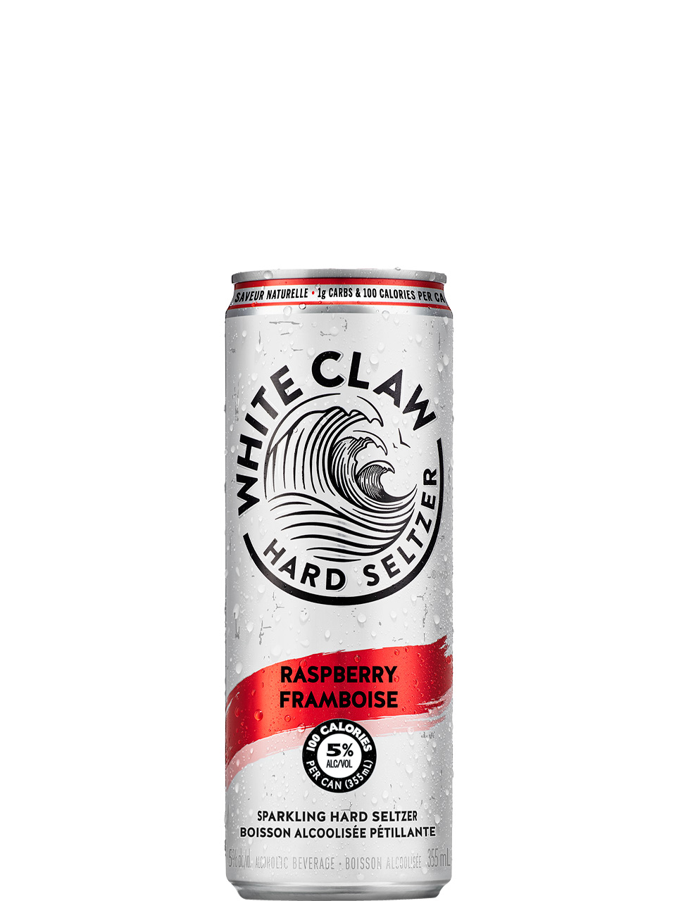 White Claw Raspberry 6 Pack Cans
