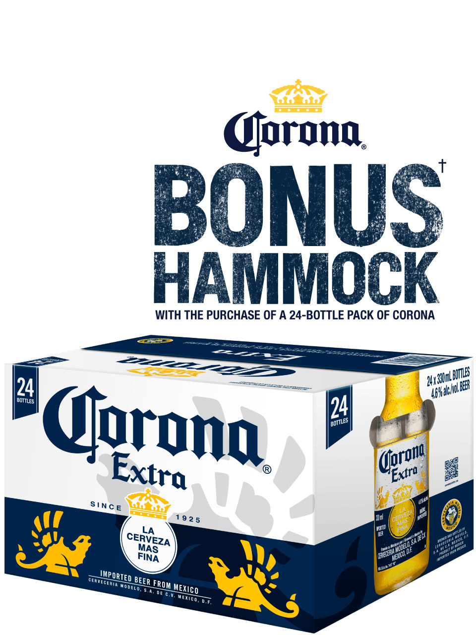 Corona Extra Bottles 24pk