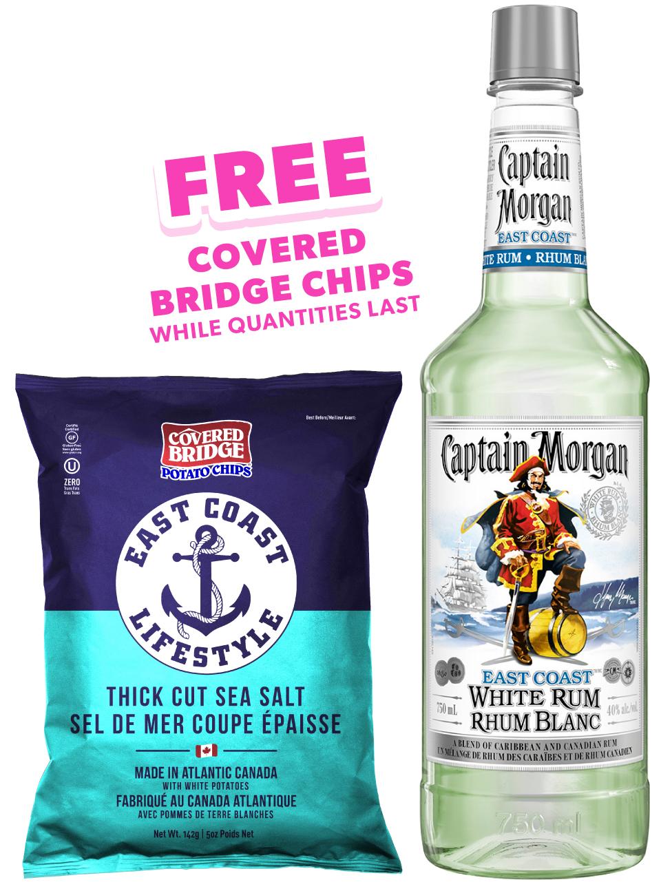 Captain Morgan East Coast White Rum PET