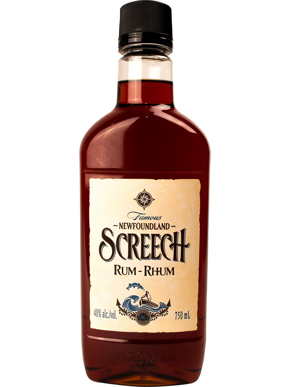 Screech Rum PET