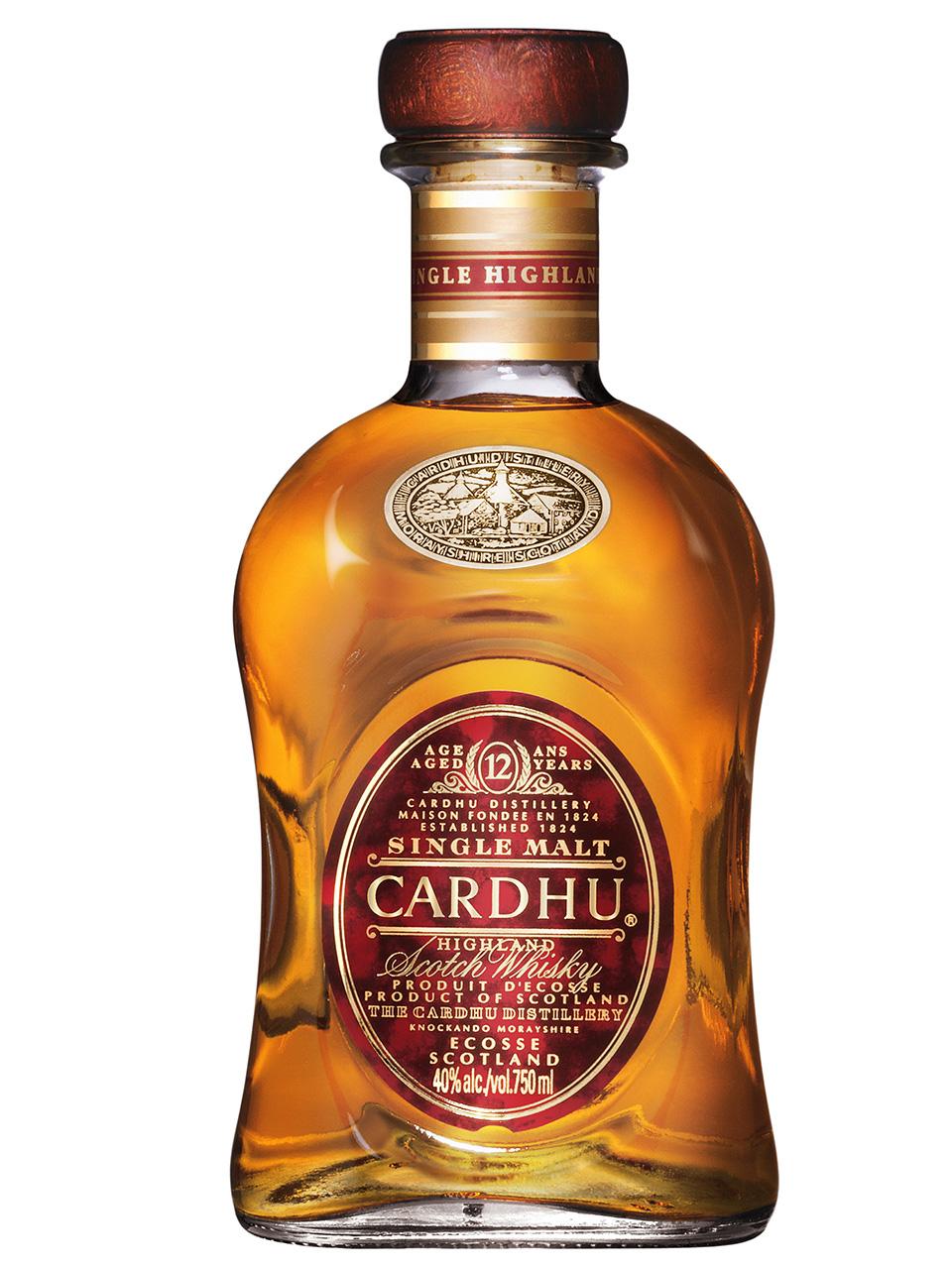 Cardhu 12YO Single Malt Whisky