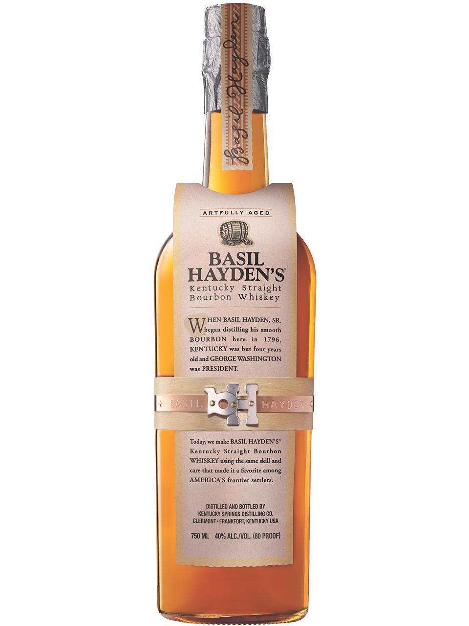 Basil Hayden's 8 YO Kentucky Straight Bourbon