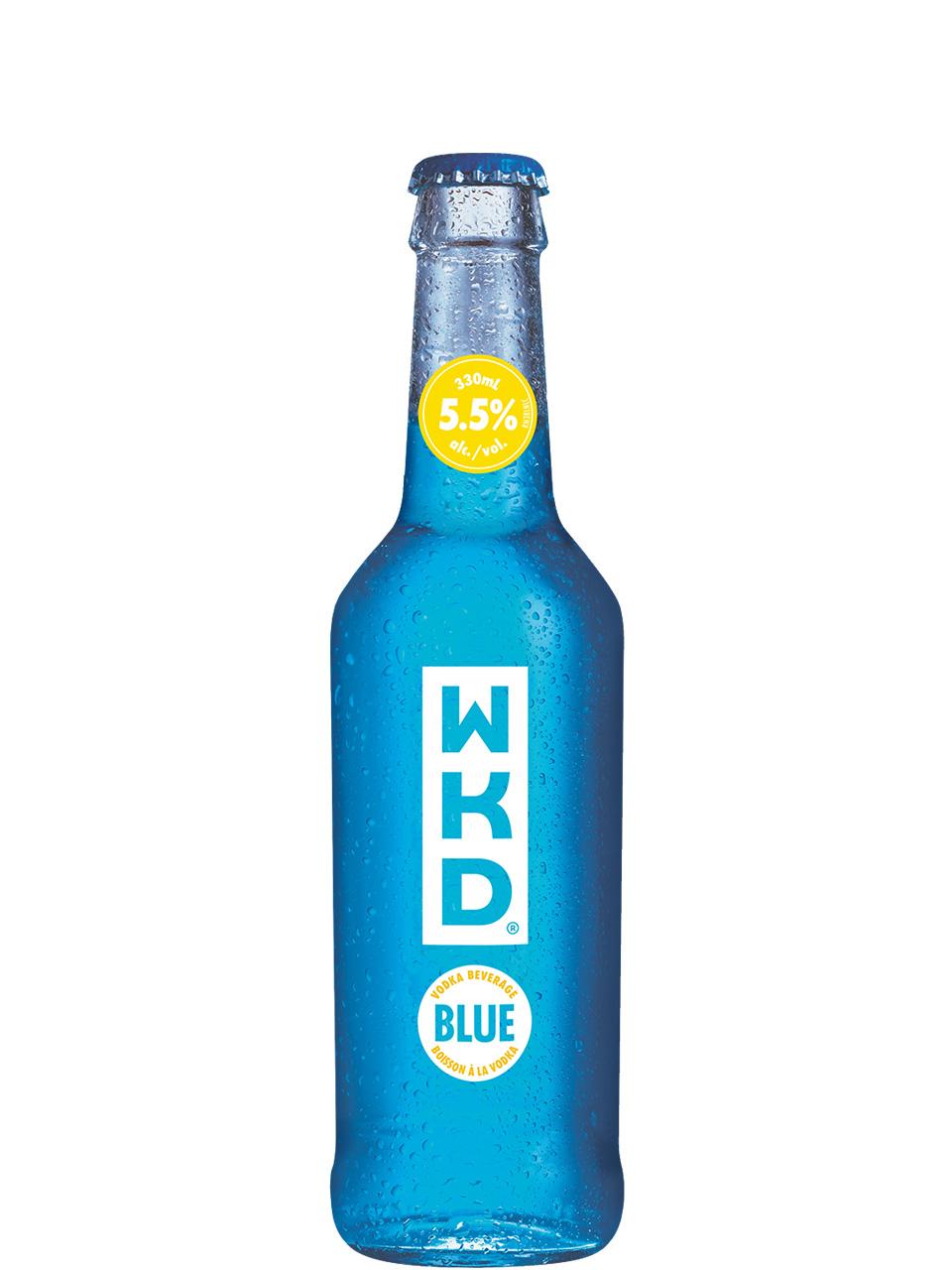 WKD Original Vodka Blue