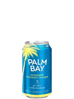 Palm Bay Pineapple Mandarin Orange 6 Pack Cans
