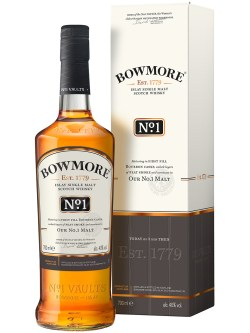 Bowmore No.1 Scotch Whisky