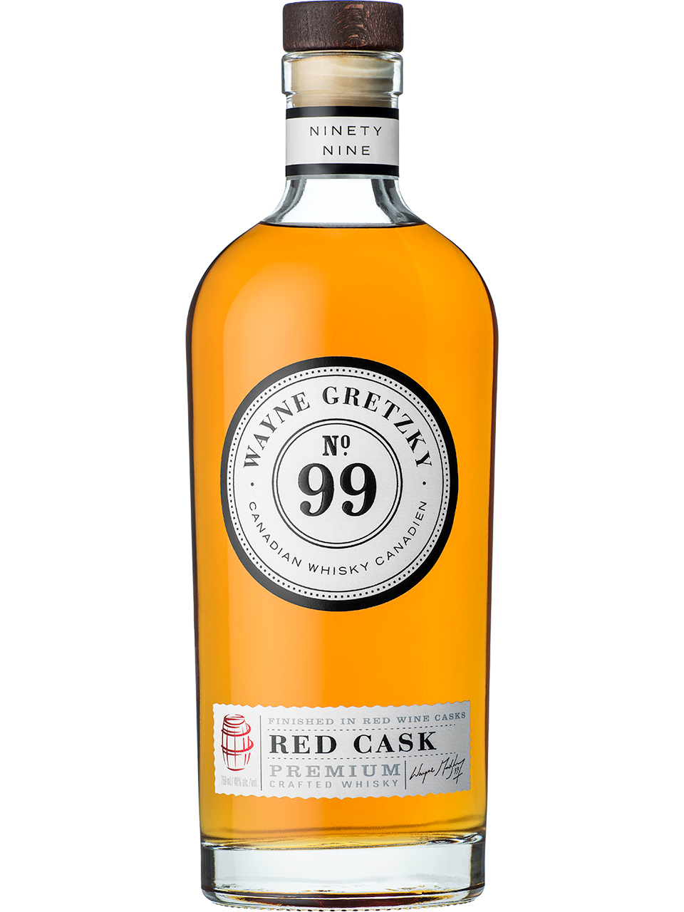 Wayne Gretzky No. 99 Red Cask Whisky