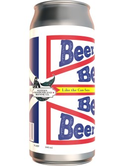 Western NL Brewing Beer: Like The Can Says