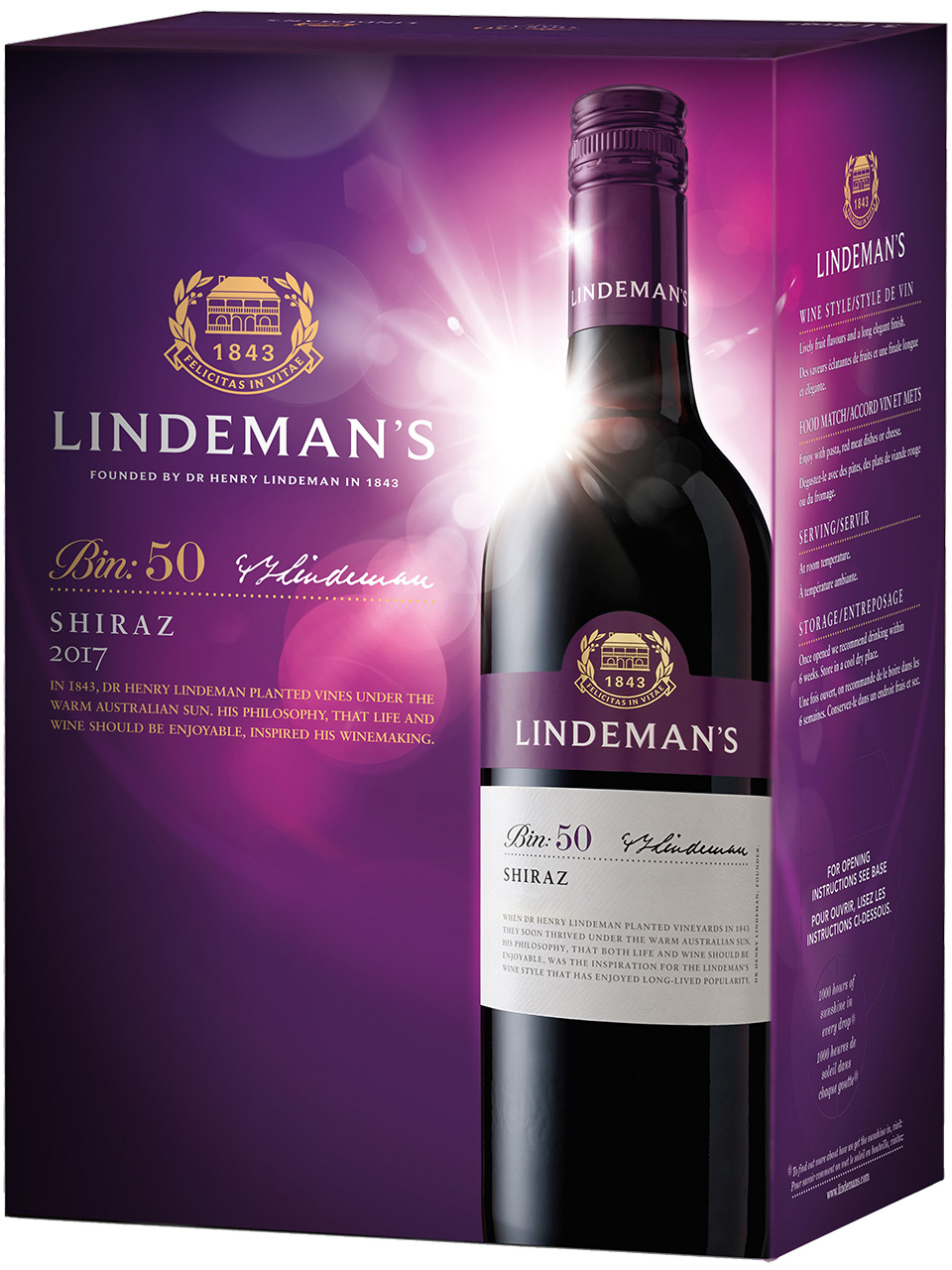 Lindeman's Bin 50 Shiraz