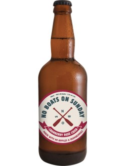 No Boats on Sunday Cranberry Rose Cider