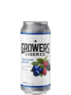 Growers Orchard Berry Cider 473ml Can